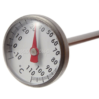 Термометр для молока механический (щуп 12 см)